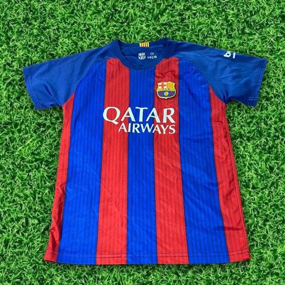 Shirts Tops Fc Barcelona Unicef Messi 10 Jersey Poshmark